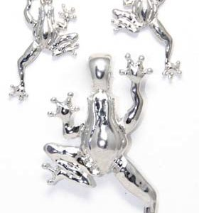 frog earring set