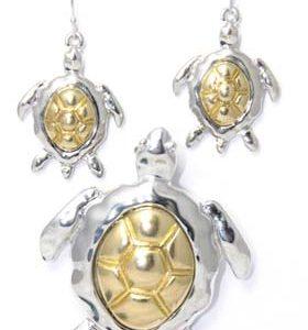 turtle earring set