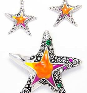 star earring set