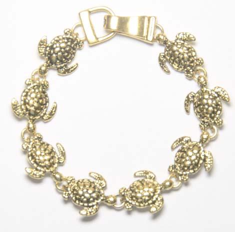 gold turtle bracelet