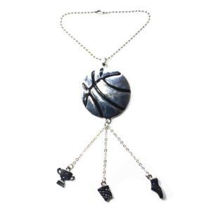 basketball car charm