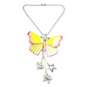 butterfly car charm