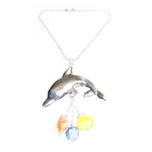 dolphin car charm