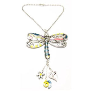 dragonfly car charm jewelry