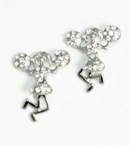 cheerleader earrings