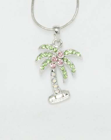 palm tree necklace