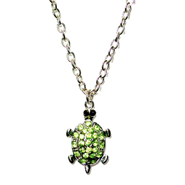 green turtle anklet