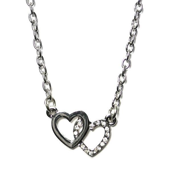 two hearts anklet