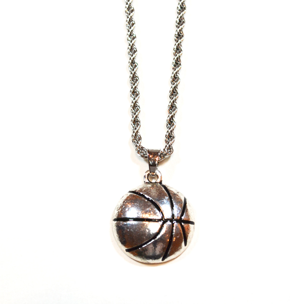 baskeball necklace