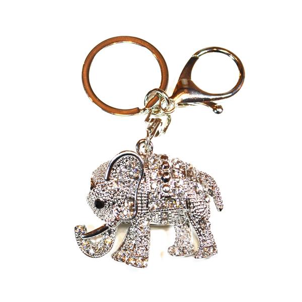 elephant bag and key charm