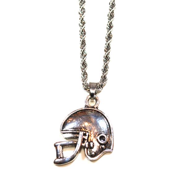football helmet necklace