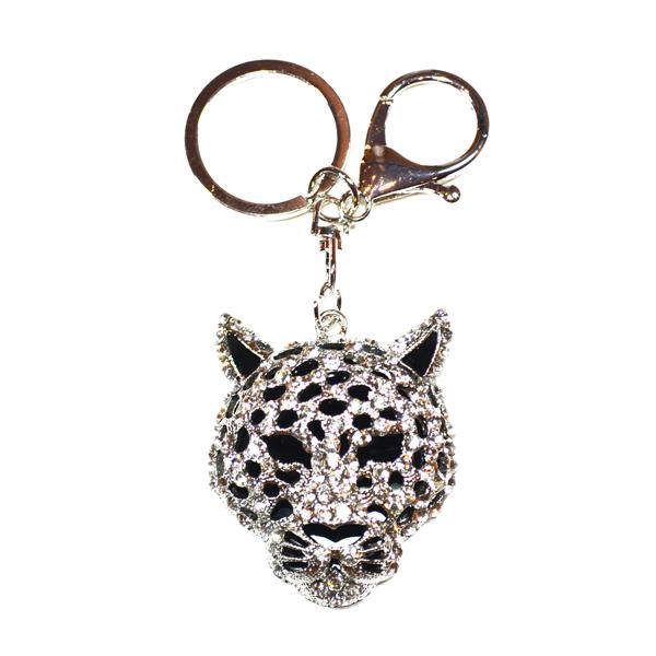 jaguar bag and key charm