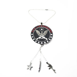 2nd amendment car charm