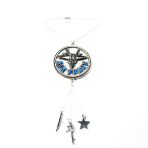 airforce car charm
