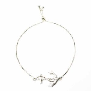 adjustable anchor bracelet