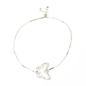 adjustable butterfly bracelet