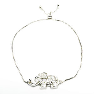adjustable elephant bracelet