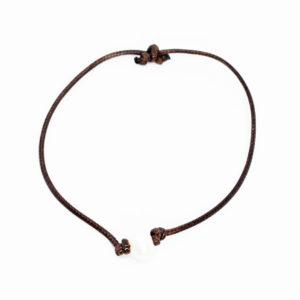 single pearl brown bracelet
