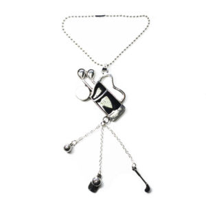 golf bag car charm