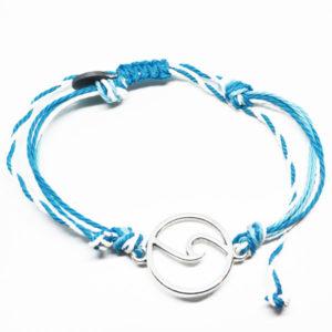 blue wave friendship bracelet