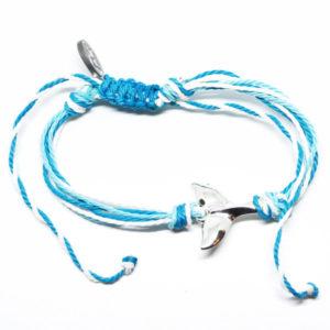 blue whale friendship bracelet