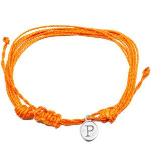 orange friendship bracelet