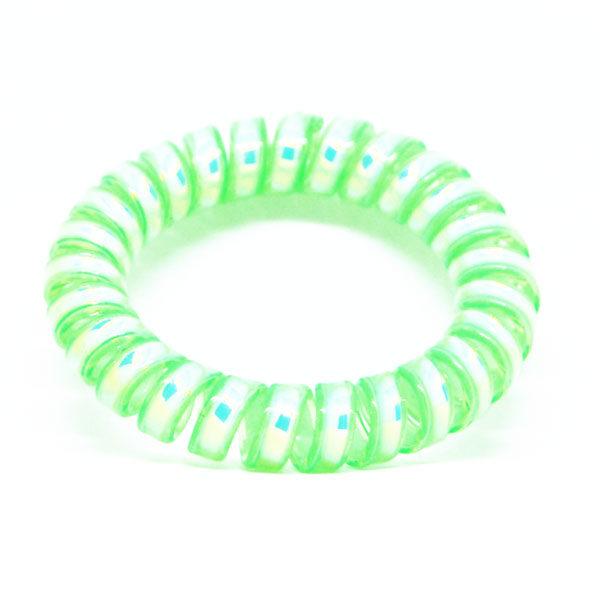 green cord hair bracelet